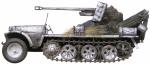 Sd Kfz 10 – 5cm Pak38(Sf)