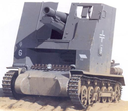 15 cm sIG 33 (Sf) auf Panzerkampfwagen I Ausf B